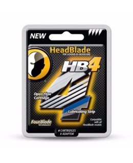HB4 Four Blade 4 Pack Blades