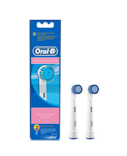 Sensitive Electric Toothbrush Replacement Brush Head Refills 2 Pack