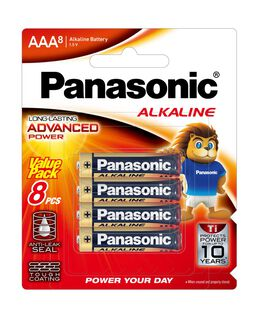 AAA Alkaline Battery 8pk