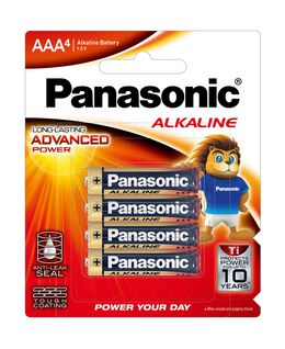 AAA Alkaline Battery 4pk