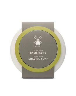 Shaving Soap in Porcelain bowl - Aloe Vera