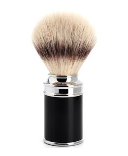 Traditional Silvertip Fibre Shaving Brush - Black