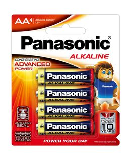 AA Alkaline Battery 4pk