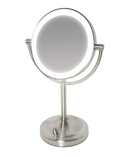 Radiance Double Sided Mirror with Dimmable LED