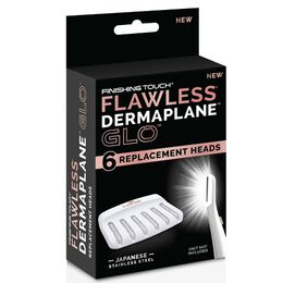 Dermaplane Glo Replacement Heads 6pk