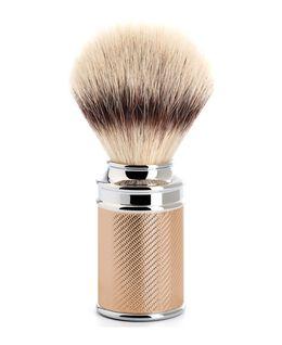 Traditional Silvertip Fibre Shaving Brush - Rose Gold